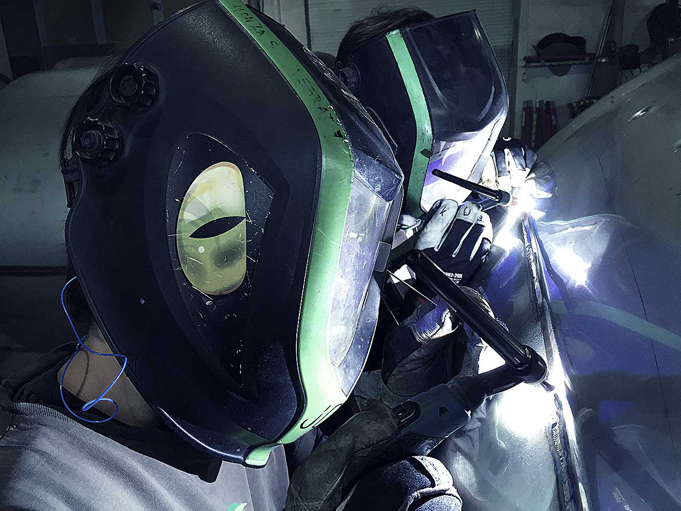 Získali jsme certifikát pro proces svařování{lang}We obtain certificate for welding process