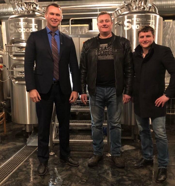 Instalace kompletního projektu pivovaru v Litvě{lang}Installation of complete brewery project in Lithuania