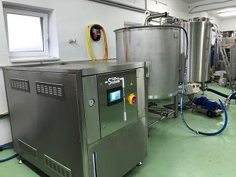 Celonerezový elektrický vyvíječ páry{lang}INOX Processing electric steam generator